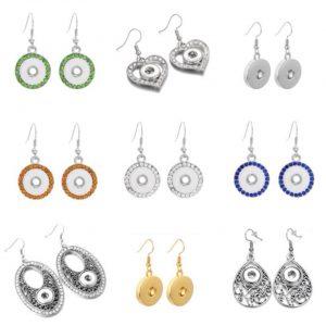 Snap Earrings & Rings